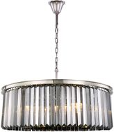 Urban Classic 1238G43PN-SS-RC Sydney Polished Nickel 43.5  Drum Pendant Lighting Fixture