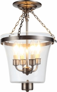 Urban Classic 1423F12VN Seneca Vintage Nickel Ceiling Lighting Fixture