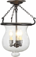 Urban Classic 1424F12BZ Seneca Bronze  Flush Lighting