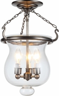 Urban Classic 1424F12VN Seneca Vintage Nickel Overhead Lighting