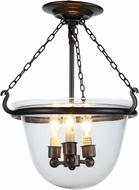 Urban Classic 1425F13BZ Seneca Bronze  Flush Mount Lighting Fixture