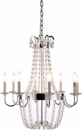 Urban Classic 1433D24SN Roma Silver Nickel Foyer Light Fixture