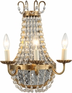 Urban Classic 1433W13BB Roma Burnished Brass Wall Lighting