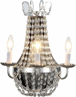 Urban Classic 1433W13SN Roma Silver Nickel Light Sconce