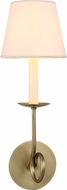 Urban Classic 1437W5BB Argyle Burnished Brass Wall Sconce Lighting