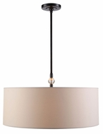 Urban Classic 1441D22BZ Asha Bronze Drum Pendant Light