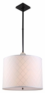 Urban Classic 1445D22BZ Gemma Bronze Drum Hanging Light