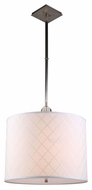 Urban Classic 1445D22VN Gemma Vintage Nickel Drum Pendant Lighting Fixture