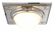 Urban Classic 1446F12PN Cilla Polished Nickel Ceiling Light Fixture