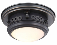 Urban Classic 1447F10BZ Mallory Bronze Flush Mount Lighting Fixture