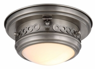 Urban Classic 1447F10VN Mallory Vintage Nickel Flush Mount Ceiling Light Fixture