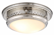 Urban Classic 1447F13PN Mallory Polished Nickel Overhead Lighting Fixture