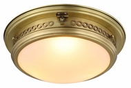 Urban Classic 1447F16BB Mallory Burnished Brass Ceiling Light