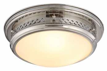 Urban Classic 1447F16PN Mallory Polished Nickel Ceiling Lighting Fixture