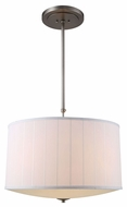 Urban Classic 1449D24VN Manhattan Vintage Nickel Drum Pendant Lamp