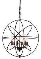 Urban Classic 1453D25DB Vienna Contemporary Dark Bronze 25  Drop Ceiling Lighting