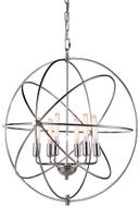 Urban Classic 1453D25PN Vienna Modern Polished Nickel 25  Ceiling Light Pendant
