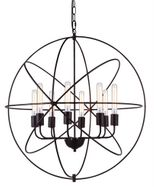Urban Classic 1453D32DB Vienna Contemporary Dark Bronze 32  Ceiling Pendant Light