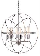 Urban Classic 1453D32PN Vienna Contemporary Polished Nickel 32  Drop Ceiling Light Fixture