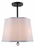 Urban Classic 1455D16BZ Plantation Bronze Drum Hanging Light