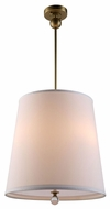 Urban Classic 1456D18BB Afton Burnished Brass Drum Drop Lighting