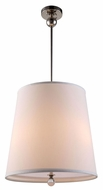 Urban Classic 1456D18PN Afton Polished Nickel Drum Ceiling Light Pendant