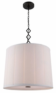 Urban Classic 1458D23BZ Luna Bronze Drum Pendant Lighting Fixture
