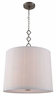Urban Classic 1458D23VN Luna Vintage Nickel Drum Hanging Pendant Light