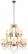 Urban Classic 1471G39GI Diana Golden Iron Chandelier Light