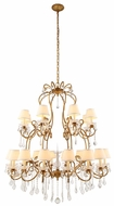 Urban Classic 1471G44GI Diana Golden Iron Chandelier Lamp