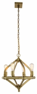 Urban Classic 1472D20BB Illumina Contemporary Burnished Brass Hanging Chandelier