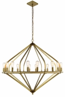 Urban Classic 1472G52BB Illumina Modern Burnished Brass Chandelier Lighting