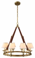 Urban Classic 1473D33BB Cascade Burnished Brass Chandelier Light