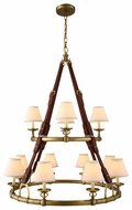 Urban Classic 1473G37BB Cascade Burnished Brass Chandelier Light
