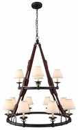 Urban Classic 1473G37BZ Cascade Bronze Chandelier Lighting