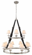 Urban Classic 1473G37PN Cascade Polished Nickel Lighting Chandelier