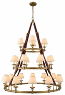 Urban Classic 1473G52BB Cascade Burnished Brass Chandelier Lamp