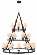 Urban Classic 1473G52BZ Cascade Bronze Chandelier Light