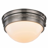 Urban Classic 1474F12VN Pria Vintage Nickel Ceiling Light Fixture