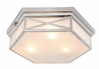 Urban Classic 1477F18PN Penta Polished Nickel Ceiling Light Fixture