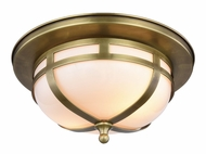 Urban Classic 1478F11BB Bella Burnished Brass Flush Lighting