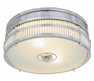 Urban Classic 1481F12PN Anjelica Polished Nickel Flush Mount Lighting