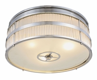 Urban Classic 1481F13PN Anjelica Polished Nickel Flush Mount Light Fixture