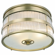 Urban Classic 1481F18BB Anjelica Burnished Brass Flush Mount Lighting Fixture