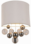 Urban Classic 1486W10VN Milan Contemporary Vintage Nickel Wall Sconce Lighting