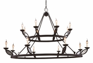 Urban Classic 1488G66VB Charleston Vintage Bronze Chandelier Lamp