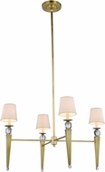 Urban Classic 1489G36BB Olympia Burnished Brass 36  Chandelier Light