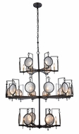 Urban Classic 1490G42BZ Twilight Contemporary Bronze Ceiling Chandelier