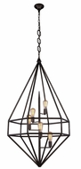 Urban Classic 1492D30AI Marquis Contemporary Aged Iron 30  Entryway Light Fixture