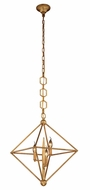 Urban Classic 1495D22GI Nora  Contemporary Golden Iron 22  Entryway Light Fixture